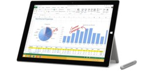 MICROSOFT SURFACE 3 64GB SILVER - TABLET
