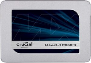 CRUCIAL MX500 CT1000MX500SSD1 (Z) - 1TB SSD INTERNAL SOLID HARD DRIVE