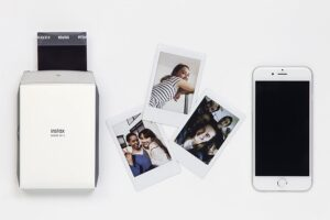 FUJIFILM INSTAX SHARE SP-2 - SMARTPHONE PRINTER, SILVER