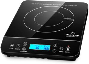 GM Full Crystal Portable Induction Hob - Versatility and simplicity
