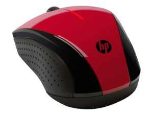HP X3000 - OPTICAL WIRELESS MOUSE, RED COLOR