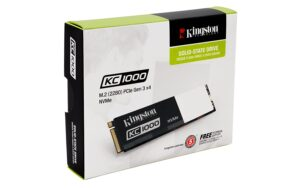 KINGSTON KC1000 - 480GB PCIE NVME SSD, GEN2 X4 (M.2 2280)
