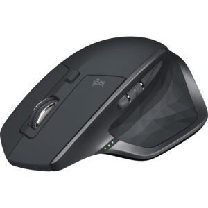 LOGITECH MX MASTER 2S - WIRELESS BLUETOOTH MOUSE FOR MAC AND WINDOWS, GRAPHITE