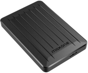 MAXONE METALLIC DESIGN - 500GB EXTERNAL HARD DRIVE