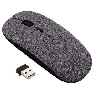 RECHARGEABLE WIRELESS MOUSE, SILENT INPHIC