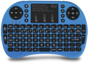 RII X8 - MINI WIRELESS BACKLIT TOUCHSCREEN KEYBOARD
