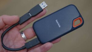 SANDISK EXTREME - PORTABLE SSD 500 GB