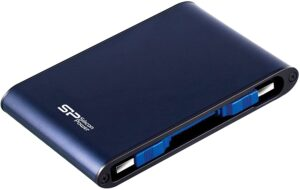 SILICON POWER - PORTABLE EXTERNAL HARD DRIVE FOR PC AND MAC