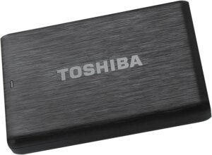 TOSHIBA CANVIO BASICS - EXTERNAL HARD DRIVE, 2.5 INCHES (6.4 CM), BLACK, 2 TB