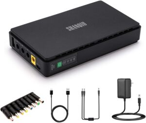 UNINTERRUPTIBLE POWER SUPPLY MINI UPS WITH POE WITH 8800MAH