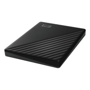 WD MY PASSPORT - 4TB PORTABLE HARD DRIVE AND AUTOMATIC BACKUP SOFTWARE, BLACK