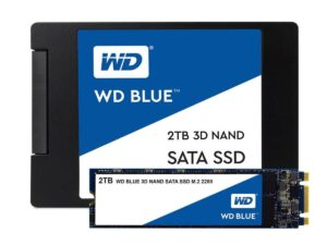 WESTERN DIGITAL WDS250G2B0A WD BLUE 250GB 3D NAND INTERNAL SSD 2.5