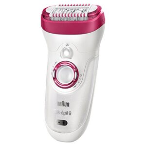 Braun Silk-épil 9 9-538 - Body and face without hair or pain
