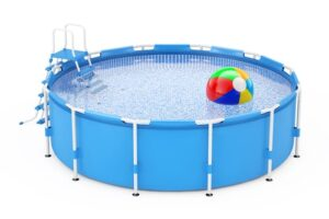 How to use and assemble a portable pool