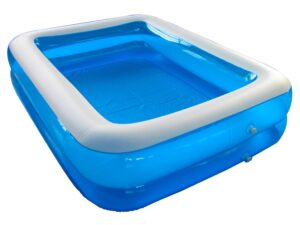 Pool rectangular plastic
